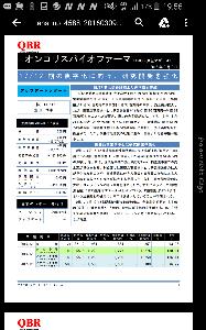 4588 - オンコリスバイオファーマ(株) アナリスト豊田さん優秀だ。株価500円の時にほぼ正確に黒字化を予想していた。Dxと蛙の風説コンビに爪