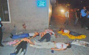 アルバイトの悪ふざけ写真 命ある限り忘れてはならない!!!       虐殺屋、侵略者にして抑圧者である中国共産党を殲滅せよ!