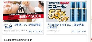 2929 - (株)ファーマフーズ 最近、ヤフーページでニューモの広告が多かったけどこれはお客の奪い合いなん子ねぇーーーw