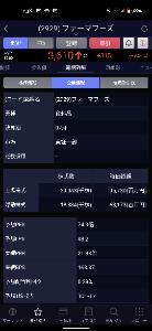 2929 - (株)ファーマフーズ 東証一部になってますね~🎶