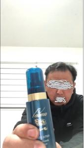 2929 - (株)ファーマフーズ ふにゃふにゃだった髪に腰が出て来たと本人談。 来月から定期購入で半年使ってみるとのことです。 売り上