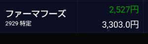2929 - (株)ファーマフーズ 明日もニャンコと一緒に沈もうぜ!!👍️👍️👍️な訳…༼;´༎ຶ  ༎ຶ༽