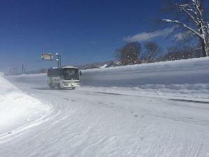 ∴☆∵なっちまった60代∴☆∵ 積雪がついに3メートルを超えた、幌加内にいってきました。新記録でも除雪は万全、1日4便の 列車代行バ