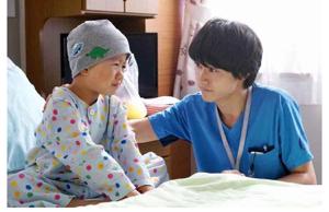 2370 - (株)メディネット 昨日、録画しておいたグッドドクターを 見ました。 このドラマは小児外科病棟の医師と患者の心情が描かれ