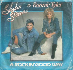 パワーポップとパブロックと Shakin' Stevens & Bonnie Tyler - A Rockin