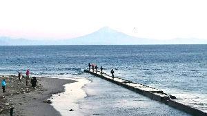 大阪の中年バイカー募集 謹賀新年 らくちゃんデス、 本年も よろしくお願いします。  元旦の富士山
