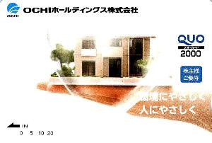 3166 - OCHIホールディングス(株) 昨年 -。