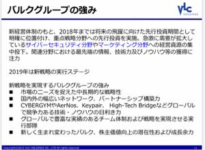 2467 - (株)バルクホールディングス バルクグループの強み?  石原。日本語で書いてはいるが、何言ってるか理解が出来ない。  おまえが社長