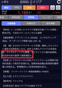 2352 - (株)エイジア ジャパンエレベーターの再来!!  エイジアいいですよ!!