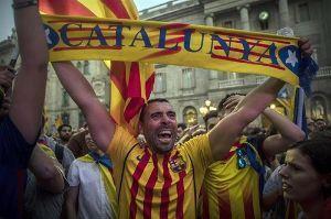 凡人の妄想トレーディング カタルーニャ独立問題・・・・・・ スペイン政府の妨害があったにも関わらず、実施された独立の是非を問う