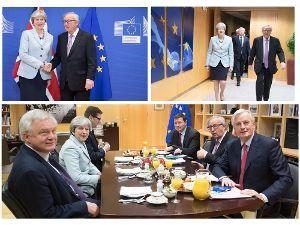 凡人の妄想トレーディング 英国のEU離脱交渉のカギを握っていたメイ首相。 当初は、EU離脱に加えて、EU単一市場からの撤退、関