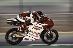 凡人の妄想トレーディング MotoGP第1戦カタールGP Moto3クラス決勝  フロントロウ3番グリッドからスタートした鳥羽