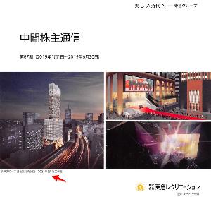 9631 - (株)東急レクリエーション >ミラノ座跡地に映画館?((o(°∀°)o))ワクワクッ  歌舞伎町一