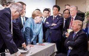 朝日新聞とNHK問題 『晋三さん 世界首脳 主導す』    世界から見れば日本の片隅の(失礼)新潟でゴチャゴチャ言っている