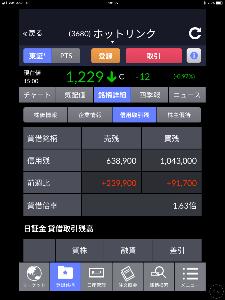 3680 - (株)ホットリンク 先程 更新された先週9日~13日までの東証の信用貸借です‼️    空売り残高が増えて貸借が改善しま