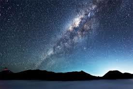 銀河の果てに 綺麗ね