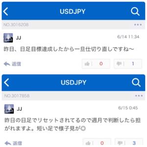 usdjpy - アメリカ ドル / 日本 円 普通なら売りは上がりきるの待ちますよ(^^)