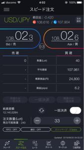 usdjpy - アメリカ ドル / 日本 円 2度目の下げで安値わらなかったから 損切り107.90にしておやすみなさい