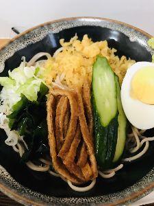 usdjpy - アメリカ ドル / 日本 円 今日のランチ、冷やしたぬき蕎麦。 108円超えますか?