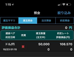 usdjpy - アメリカ ドル / 日本 円 買ってmonた
