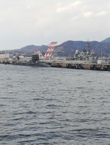 usdjpy - アメリカ ドル / 日本 円 出張で広島県呉市に来ました 黒い潜水艦がド迫力 護衛艦みたいの?もいっぱい 国防ありがとうございます