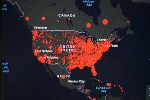 usdjpy - アメリカ ドル / 日本 円 アメリカは感染者278000人 カナダとメキシコと差があるのはなぜだろう