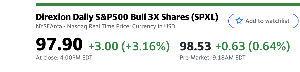 米国株情報 $spxl