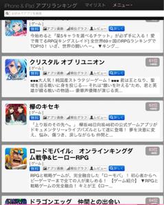 3667 - (株)enish Im KEYAKISE OJISAN。   ケヤキセ、セルラン(ゲーム)=62位↑   T