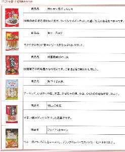 7601 - (株)ポプラ ポプラ菓子珍味Aセット