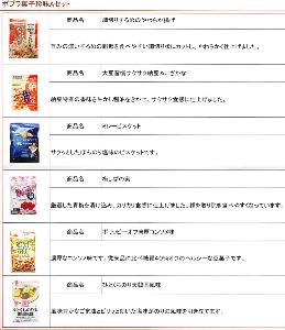7601 - (株)ポプラ 【 株主優待 到着 】 交換申込した 「ポプラ菓子珍味Aセット」 -。