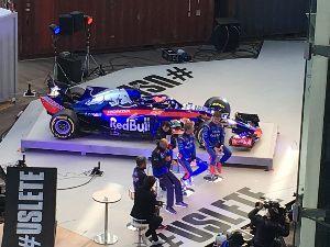 国際F3000、注目してみませんか? トロロッソのイベント行ってきました ガスリーとハートレーが頼もしく見えました