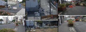 8933 - NTT都市開発(株)  №863の補足  ・9-工事の汚水を私設の側溝に排水。 ⇒【補足】隣地の方の私設の側溝に