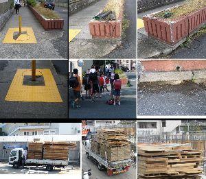 8933 - NTT都市開発(株)  №863の-関連補足  【添付画像】 1-左の画像-2枚  ・暗渠の点検孔の金蓋を開けた後、戻した