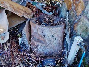 出来るうちに畑仕事をしたい  * 木の臼 *    >直径はどのくらいですか?:60cm  >木の歯がありますか?  :ありませ