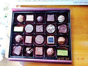 出来るうちに畑仕事をしたい   またチョコレートをいただきました。   妹が、甥に渡すついでに、僕にもくれたんですわ、ふうー!
