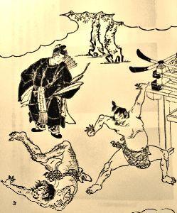 出来るうちに畑仕事をしたい      ◆今週のギャラリー:初めての天覧相撲◆   当麻蹴速と野見宿祢:竹原信繁(大和名所図絵より