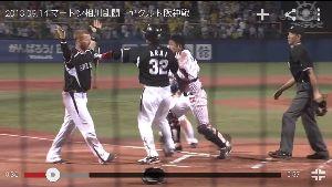 2015年7月15日(水) DeNA vs 巨人 13回戦 マートン「why japanese people?」