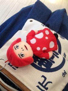 40代のページャー挑戦!! 草間彌生展いってきたよ。 ヤヨイちゃん人形、そっくりでカワユシ!