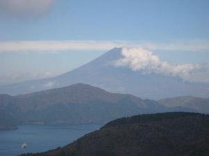 バイク好き「大人の遠足~」関西発 箱根ターンパイクからの富士山です