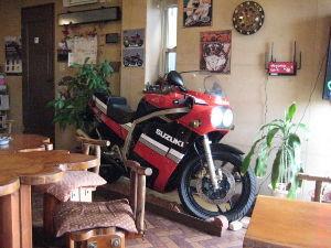 バイク好き「大人の遠足~」関西発 和歌山岩出 ライダーズカフェ ブリキのじょうろ