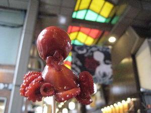 バイク好き「大人の遠足~」関西発 京都錦市場でたこ