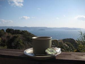 バイク好き「大人の遠足~」関西発 グライダーカフェにてコーヒー