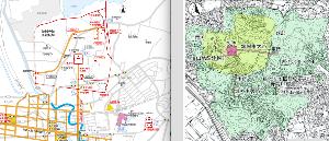zarakokuの部屋 >太宰府を囲む広大な「羅城」的遺跡は、当然太宰府の防衛線戦としての、戦闘ラインであり、そんなものは、