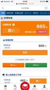 6046 - (株)リンクバル 目標株価665円  理論株価800円  現在309円、こんな安値でよく売れますね笑  不況に強い銘柄