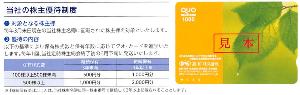 9857 - 英和(株) 【 株主優待 到着 】  (100株 3年未満) 500円クオカード ※来年は、1,000円クオカー