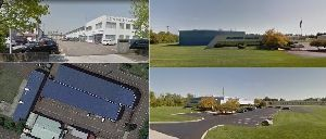 6149 - (株)小田原エンジニアリング 酒匂川の側の工場と同じ場所に新工場は建てられてます。 国内には長岡工場(左)もありますし、子会社のロ