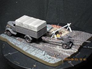 ちっこい戦車模型好きの板 訂正:エアフィクスの再現は、4x4駆動シャーシでした。 なのでタイプSではないです。失礼しました!