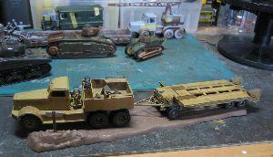 ちっこい戦車模型好きの板 つくりかけ一杯です。
