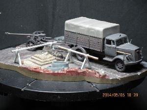 ちっこい戦車模型好きの板 これもエアフィクス1:76ミリタリーヴィークルの後期傑作金型だと思います。 画像のものは、このGW中