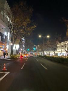 2315 - (株)CAICA 今日は暇だったのでクリスマスカラー一色の表参道を愛車で流した、しかし人出は少なくつまらなかったのです
